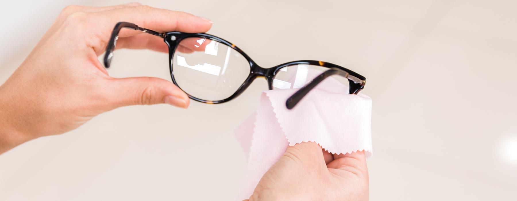 limpeza coronavirus gafas