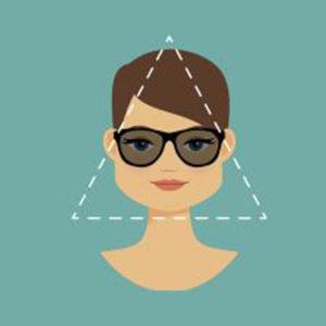 ulleres per a cara triangular