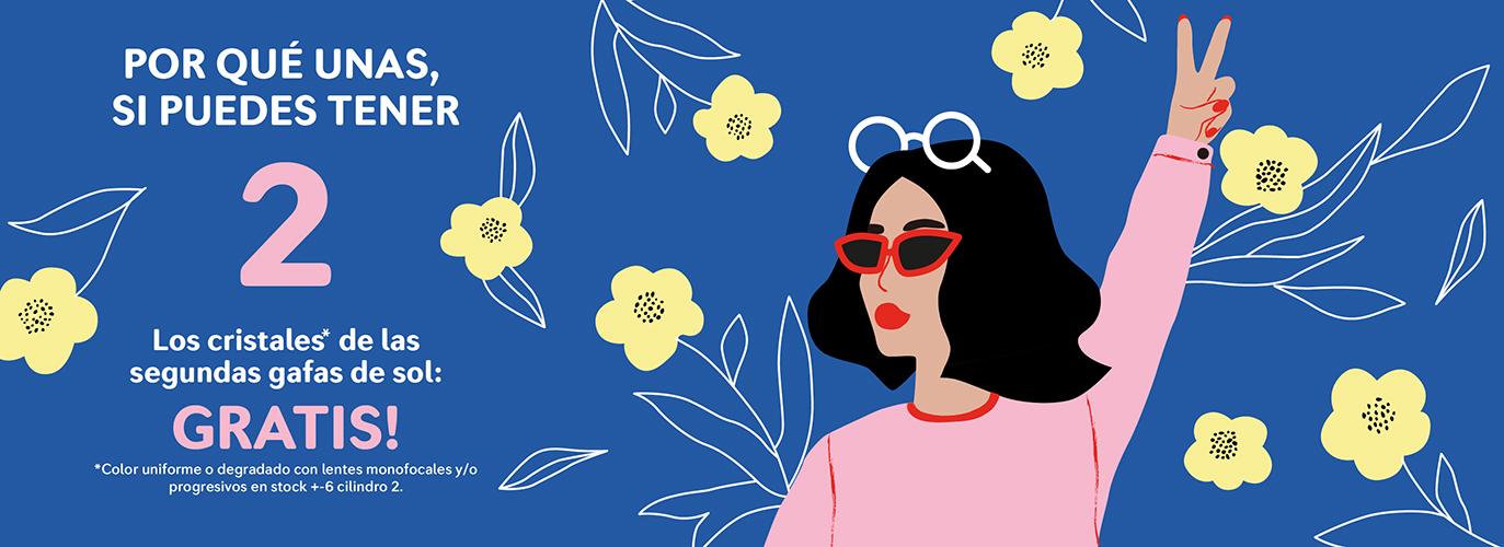 promocion cristales gafas